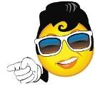 Smiling Elvis